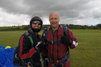 Stephen's skydive