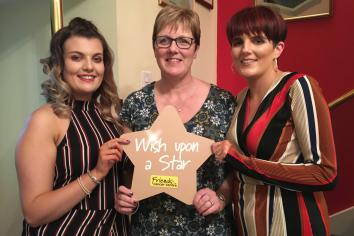 Stewart family Wish Upon a Star this Christmas