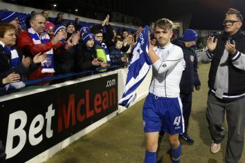 McAree hails Coleraine performance as Stripes make it four games unbeaten