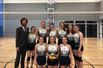 UUC progress to the NI Volleyball League Cup semis