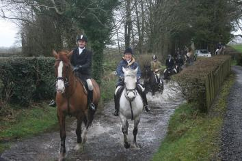 Glens Harriers final hunt of the season