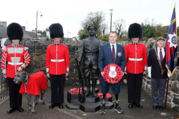 Robert Quigg VC Memorial will not be moved without consent