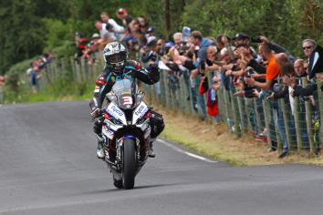 Michael Dunlop clinches eighth Race of Legends as Derek McGee completes his hat-trick