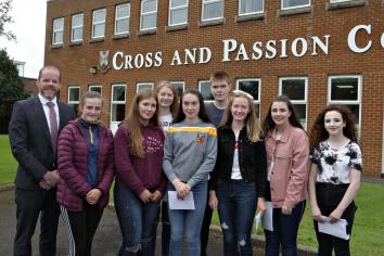 GCSE results at Cross and Passion College