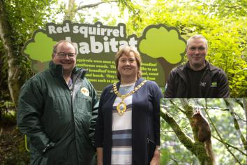 Belfast Zoo red squirrels off to coastal country park for repopulation