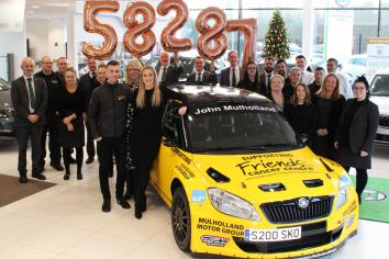 Mulhollands raise almost £60k for cancer charity