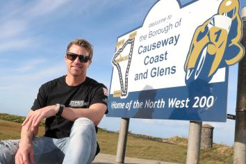 Former BSB star on way to NW200
