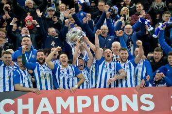 Coleraine weather the storm to clinch League Cup