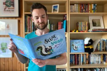 Ballycastle man shortlisted for Ireland's most prestigious children's books awards