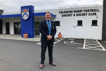 New man at helm of Coleraine Rugby Club