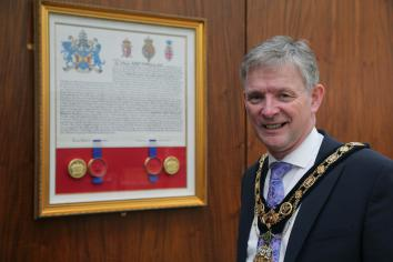 Coat of Arms reflects borough's 'rich history'