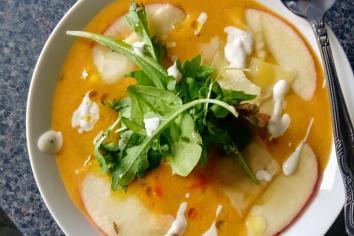 PAUL WATTERS: Curried apple soup is a tasty winter warmer