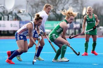 Ireland face Scotland in double header at Queen's