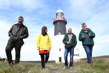 Mallon announces new community e-transport scheme for Rathlin Island