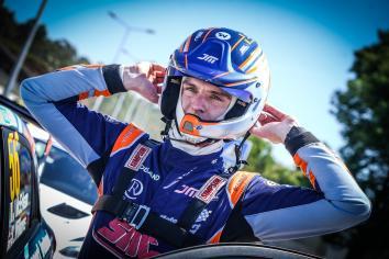 Kilrea driver Josh McErlean secures third in Rally di Alba