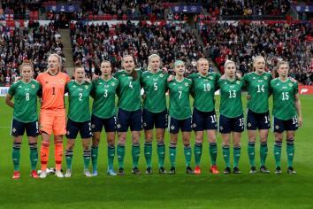 NI Women lose to England at Wembley