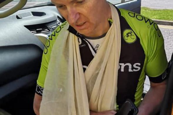MLA has brakes pulled on cycling hobby!